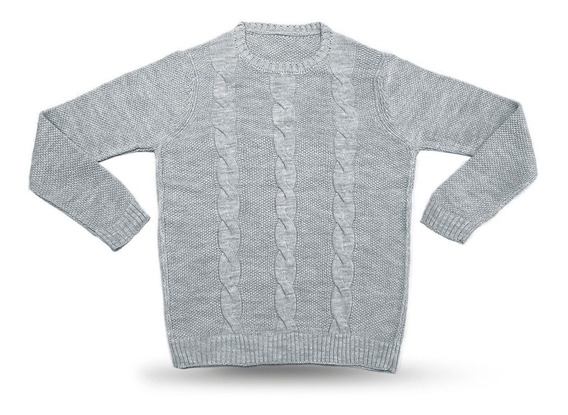Sweater Con Trenzas De Mujer Súper Suave Talle Único