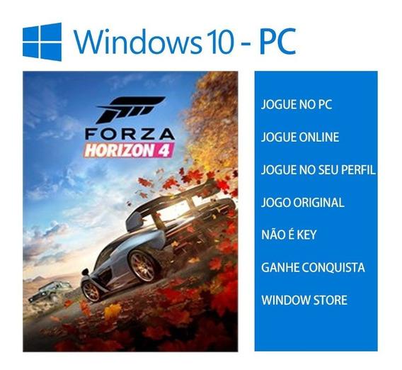 Forza Horizon 4 Pc - Windows 10 - Forza 4 Original