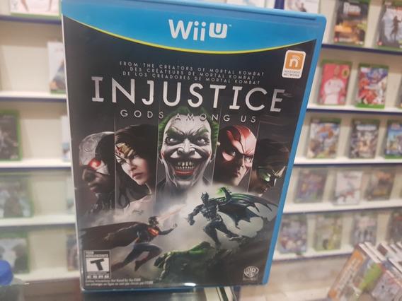 Injustice Gods Among Usado Usa Original Nintendo Wii U.