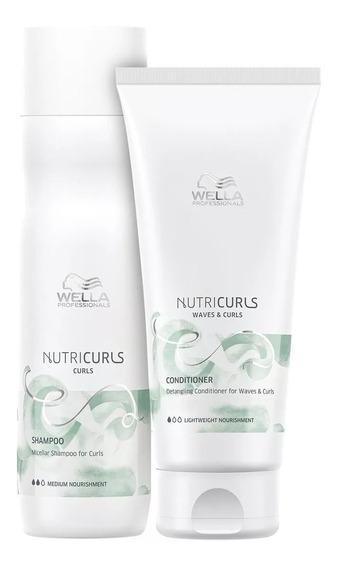 Kit Wella Professionals Nutricurls Shampoo + Condicionador