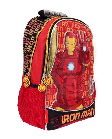 Mochila Espalda 15p Vengadores Ironman Marvel Mundo Manias