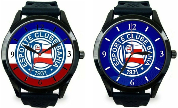 Kit 2 Relógios Pulso Bahia Masculino Esporte Barato Promoção