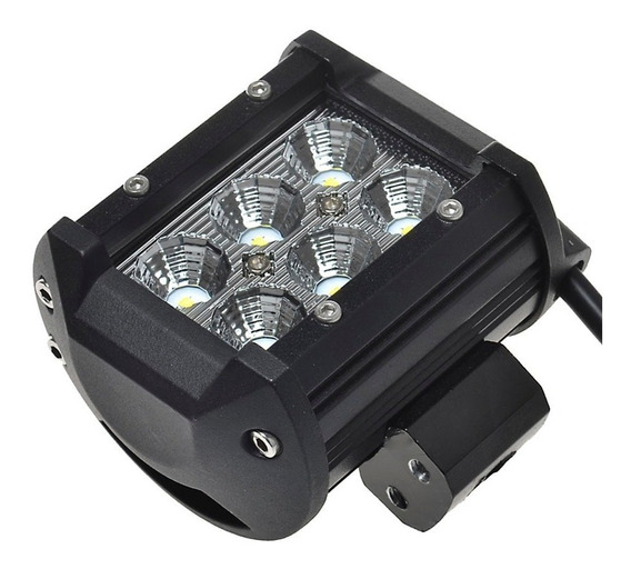 Faro Auxiliar Eversafe 6 Led 18w Auto Cuatri Moto Off Road