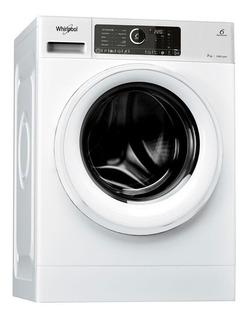 Lavarropas Whirlpool Wlcf70b 7 Kg, Carga Frontal, Blanco