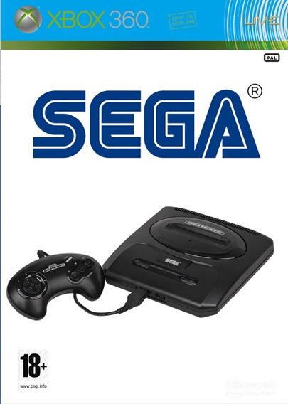 1070 Jogos Sega Genesis Mega Drive Plus Xbox 360 Rgh / Jtag