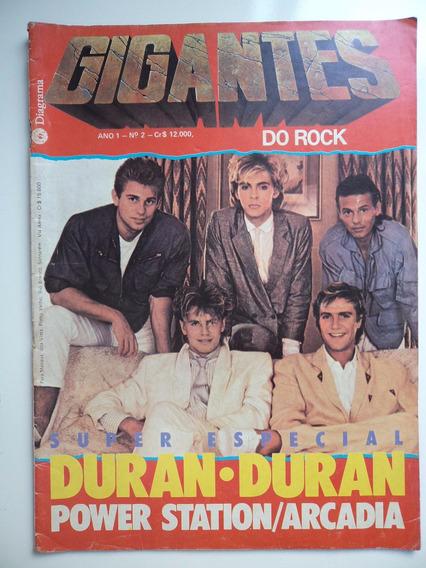 Revista Gigantes Do Rock - Ano 1 - N 2
