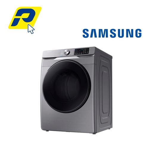 Imagen 1 de 9 de Secadora Samsung Dve22r6270p Multisteam Y Sensor Dry 22kg