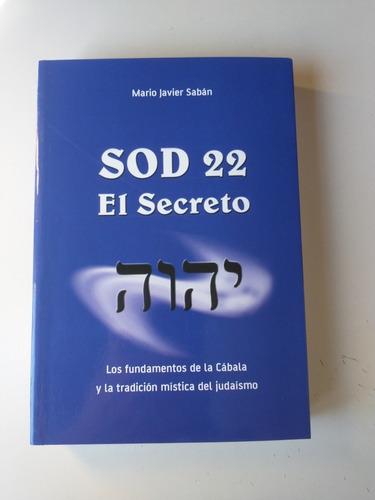 Imagen 1 de 1 de Sod 22, El Secreto Mario Javier Saban