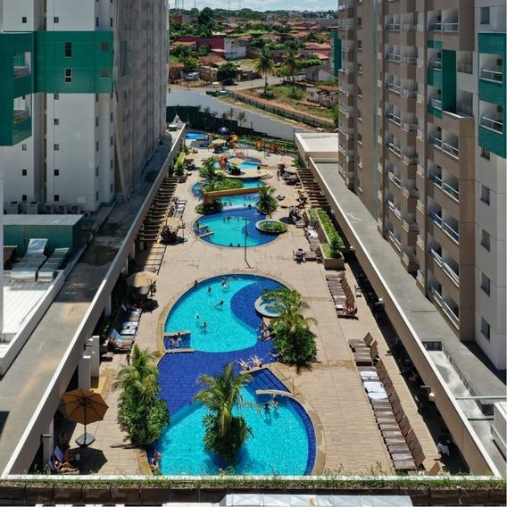 1 Cota Apto 2 Qts - Olímpia Park Resort Torre D 10º Andar