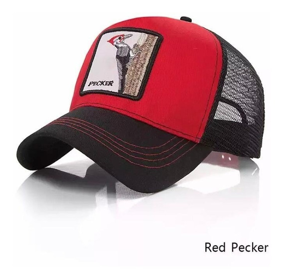 Gorra Bordada Animales Gallo Lobo Puma Unisex