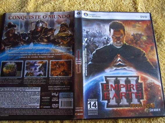 Empire Earth 3 Pc Midia Fisica