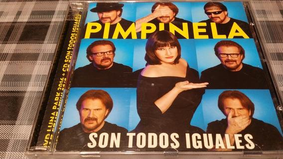 Pimpinela - Son Todos Iguales - Luna Park- Cd + Dvd - Promo