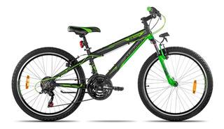 Bicicleta Aurora Rodado 24 Asx Mountain Aluminio Shimano *