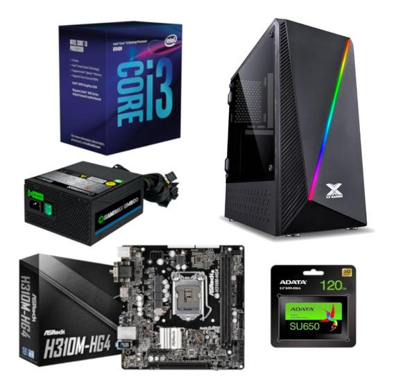 Pc Pyxis Intel I3 8100 H310m Hg4 Gamemax Gm500 Ssd A 120gb
