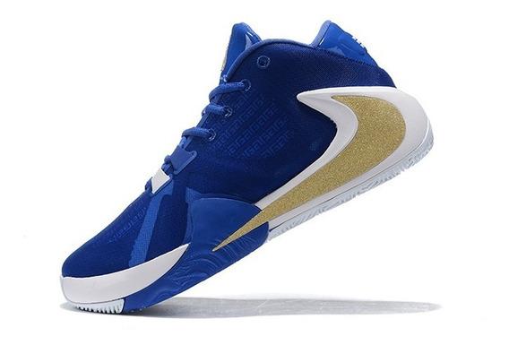 Tênis Nike Zoom Freak 1 Greece - Azul/dourado