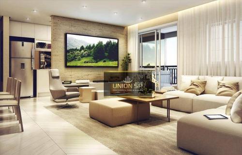 Apartamento Com 3 Dormitórios À Venda, 68 M² Por R$ 490.000,00 - Brás - São Paulo/sp - Ap47150