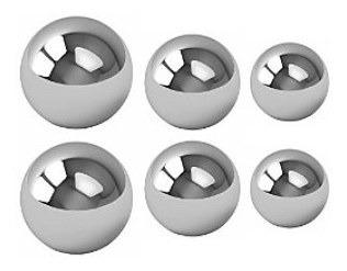Eferas Acero Inoxidable 3/8 O 9.5 Mm 40 X 500.000