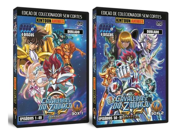Os Cavaleiros Do Zodíaco Ômega - Série Completa E Dublada