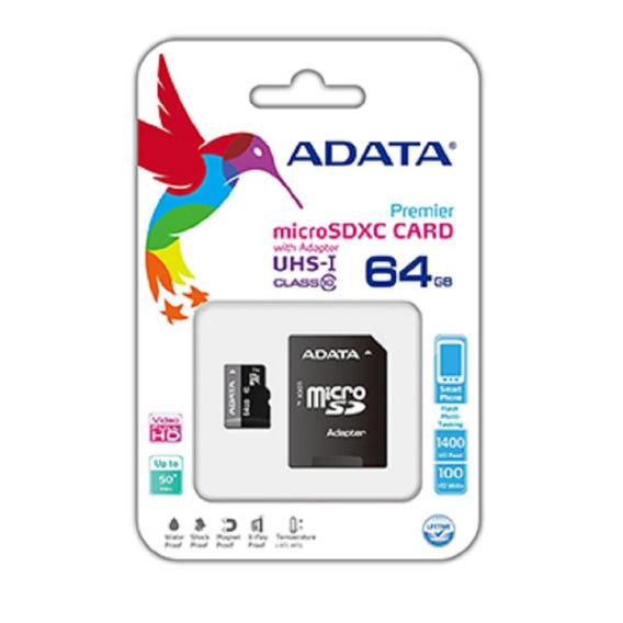 Cartão De Memória 64gb Adata Melhor Preço Do Ml.