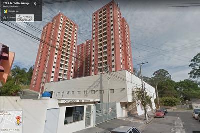 Apartamento A Venda No Bairro Vila Emílio Em Mauá - Sp. - 2424-1