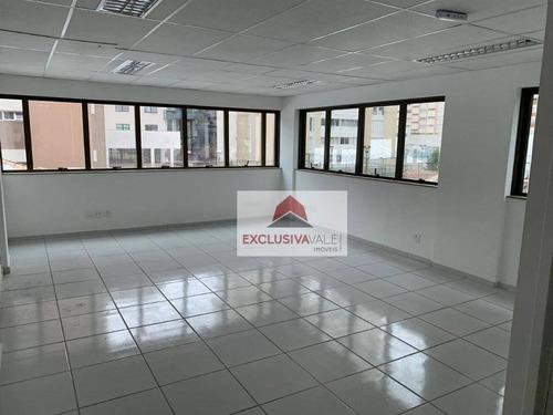 Sala Para Alugar, 47 M² Por R$ 1.600,00/mês - Jardim Apolo - São José Dos Campos/sp - Sa0228