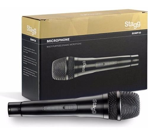 Microfono Stagg Sdmp30 Karaoke Niños Canto Bar  + Cable
