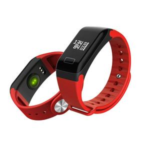 Pulseira Monitor Cardiaco Pulseira Relógio 696 Original Azul