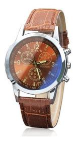 Relógio Luxo Masculino Geneva Pulso Parcelado Sem Juros