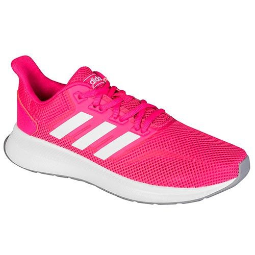 Tenis Casual adidas Falcon Mujer Textil Fucsia Dtt K01488