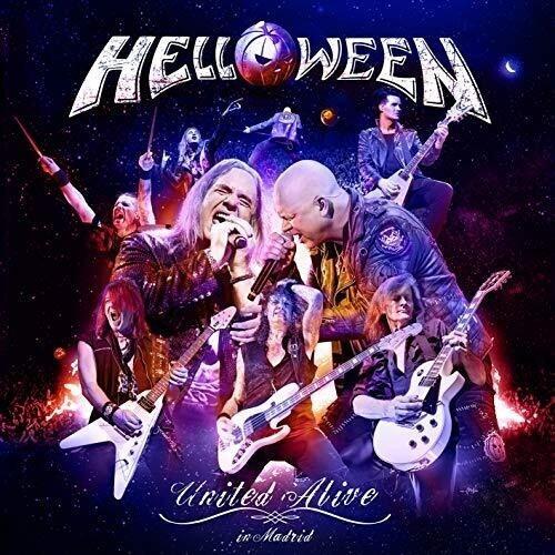 Helloween United Alive In Madrid, 3 Cd Jp Imp