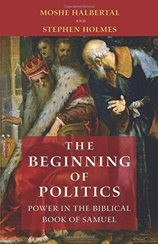 El Comienzo De La Política Poder En El Libro Bíblico