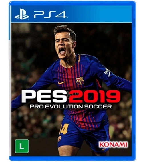 Pes 2019 Pro Evolution Soccer Ps4 Pronta Entrega