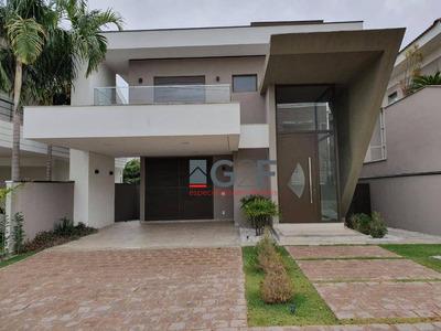 Linda Casa Swiss Park, Projeto Moderno E Fino Acabamento!! - Ca4434