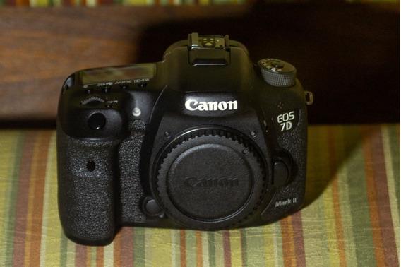 Câmera Dslr Canon 7d Mark Ii Corpo Usada Barbada