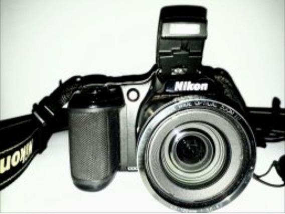Camera Nikon Zoom 30x 16mps Coolpix L820 Profissional