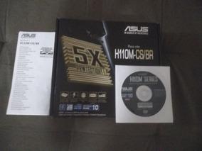 Kit Processador I3 7100 + Placa Mãe H110m-cs/br