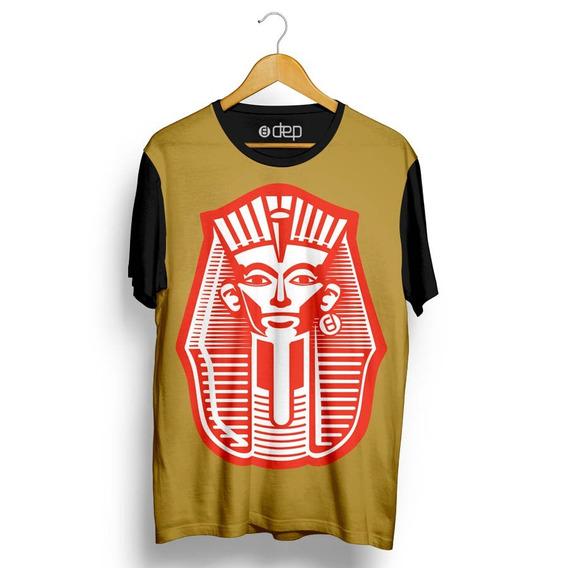 Camiseta Dep Faraó Egípcio Marrom Original