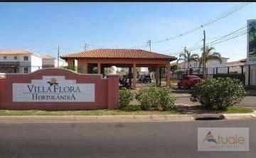Casa Com 2 Dormitórios À Venda, 64 M² Por R$ 340.000 - Villa Flora Hortolandia - Hortolândia/sp - Ca6068