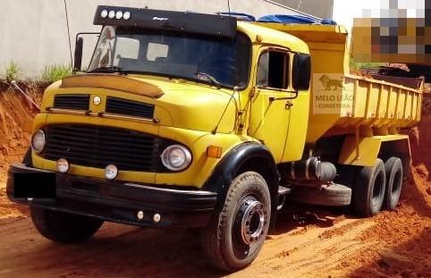 Mb L 1313 - 75/75 - Truck, Caçamba 10m³ , Diferencial