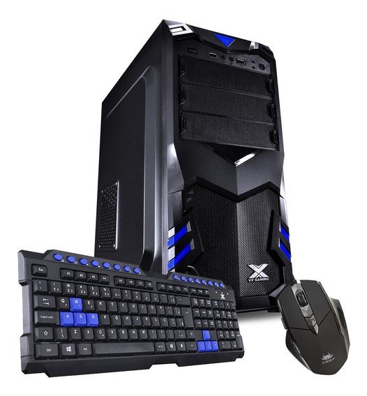 Pc Barato Cpu - Processador A4 3.7ghz 8gb Hd 500gb + Kit Teclado E Mouse
