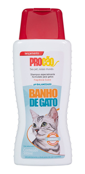 Kit C/ 8 Shampoo Banho De Gato Procão