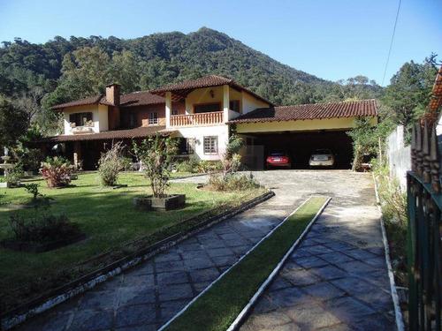 Imagem 1 de 30 de Casa Com 5 Dormitórios À Venda, 376 M² Por R$ 2.000.000,00 - Comary - Teresópolis/rj - Ca0484
