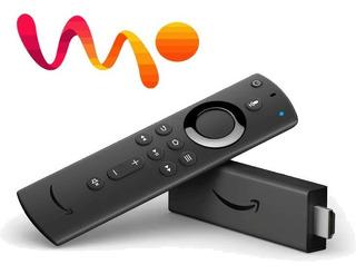 Amazon Fire Tv Stick 4k Alexa Convierte Tv En Smart - 2019