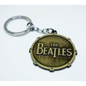 Chaveiro Beatles Dourado, Cod. 00088