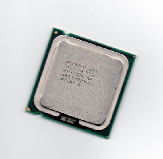 Processador Intel Core 2 Duo E6750 2.66ghz 775 4mb Fsb 1333