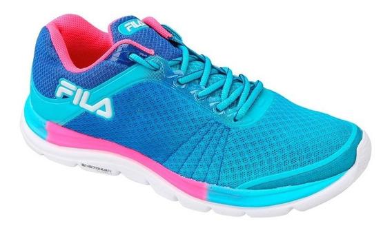 Zapatillas Fila Running Softness W Mujer - Estacion Deportes Olivos