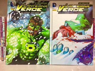 Hq Lanterna Verde Hal Jordan Procurado + Tropa Dos Lan. V