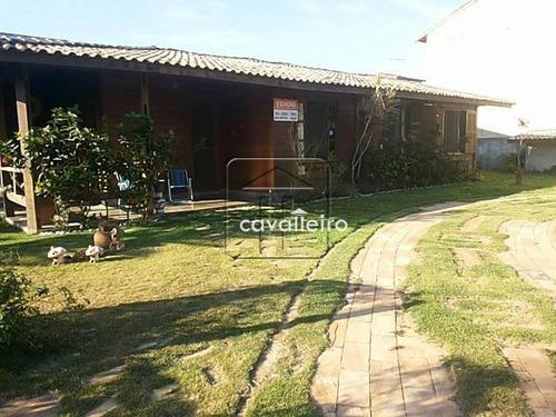 Casa Residencial À Venda, Ponta Grossa, Maricá - Ca1019. - Ca1019
