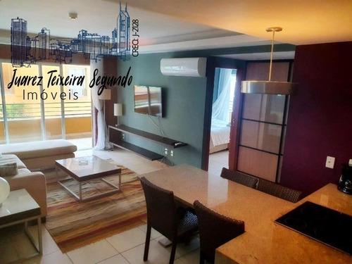Apto 1/4 No Pestana Lodge Com 1 Suíte, Frente Mar, Porteira Fechada, Oportunidade! - 09017 - 68771219