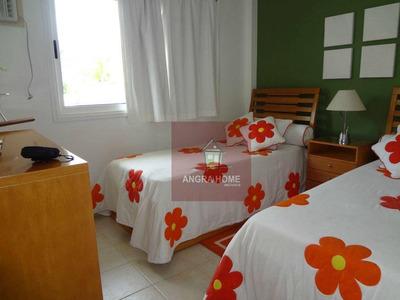 Casa Para Venda E Locação, Praia Da Ribeira(villas Del Mar), Angra Dos Reis. - Ca0079